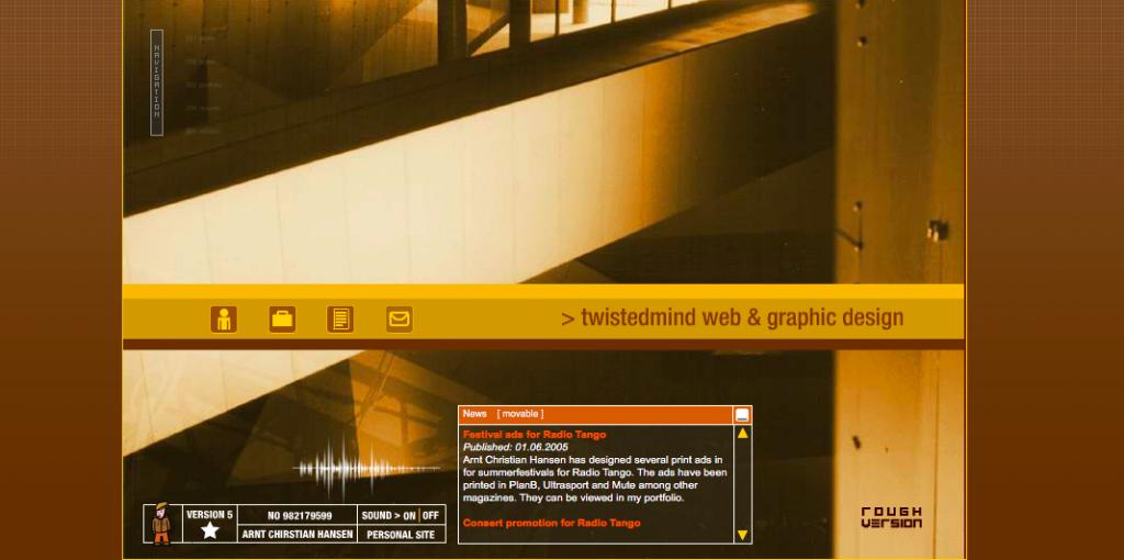 Gammel webside twistedmind